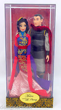 Disney Fairytale Designer Collection Mulan & Li Shang Dolls 1 of 6000