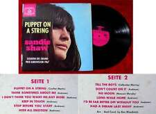 LP Sandie Shaw: Puppet on a String (Hit-Ton HTSLP 340 036) D 1967