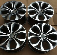 "SET OF FOUR 20"" x9.5"" 10.5"" for BMW X5 X6 XDRIVE 35I 48I 50I WHEELS RIMS NEW"