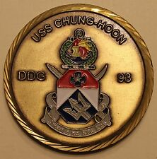 USS Chung-Hoon (DDG-93) Chief's Mess Navy Challenge Coin