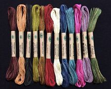 VALDANI FLOSS- THE SCENT OF FLOWERS COLLECTION, 6 Strand Floss, 12 Colors NEW