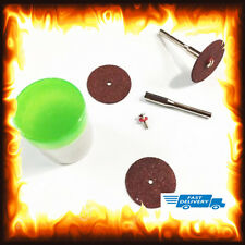 35pcs Grinding Wheel Cutting Disc Blade Craft Rod Mill for Dremel Rotary Tool