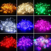 10M/20M 100/200LED String Fairy Lights Christmas Party Decor LED Lamp Waterproof