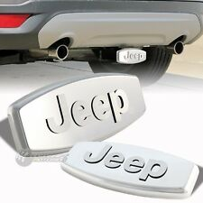 "Bully JEEP 3D LOGO Stainless Steel Hitch Cover 2""/1.25"" Trailer Tow Receiver"