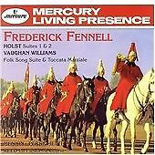 Frederick Fennell - Holst: Suites 1 & 2 Vaughan Williams - Folk Song Suite' CD