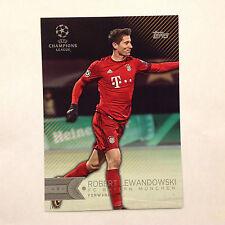 ROBERT LEWANDOWSKI #136 FC Bayern Munchen #/10 Made 2016 Topps UEFA 5X7 GOLD