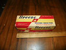 Vintage BREEZE CHEESE FOOD SUPERIOR CHEESE CO.(Oakland, CA) 2 Lb. Cardboard Box+