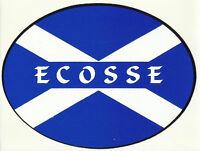 Ecosse Scotland Saltire Flag External Car Bumper Sticker Decal