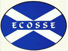 Ecosse Scotland Saltire Flag External Car Bumper Sticker Decal