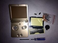 New Housing Shell Pack for Nintendo Gameboy Advance Sp GBA SP- Champagne Gold