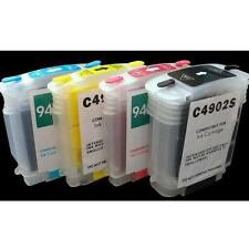4 PK HP 940 940XL refillable ink cartridge officejet Pro 8000 8500 +New Chip
