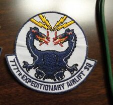 USAF PATCH, 777TH EXPEDITIONARY AIRLIFT SQUADRON