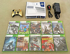 HUGE Xbox 360 Star Wars Limited Edition 320GB System Bundle + (10) FPS Games