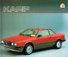 Maserati Karif  Prospekt, 1987