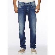 Pepe Jeans Crunch Regular Fit, Low Waist, Straight Leg Jeans [28W / 34L]