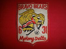 Vietnam War Patch US 6th Battalion 31st Infantry BRAVO BEARS MEKONG DELTA
