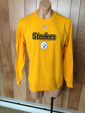 MEN'S PITTSBURGH STEELERS LONG SLEEVE SHIRT-SIZE: MEDIUM