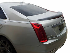 CADILLAC CTS FLUSH MOUNT FACTORY STYLE UNPAINTED REAR WING SPOILER 2014-2016