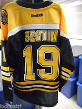 Reebok NHL Boston Bruins Tyler Seguin Youth Replica Jersey NWT L/XL