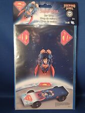 New Superman Pinewood Derby Car Wrap Boy Scouts DC Arts Crafts Racing