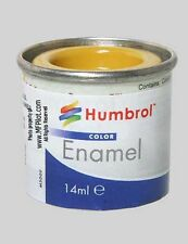 MATTE TRAINER YELLOW - Humbrol Enamel Model Paint - 14ml Tin #24