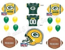 GREEN BAY PACKERS Football Game Day Birthday party Balloons Decoration Supplies