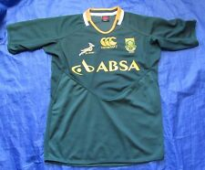 South Africa RUGBY shirt jersey by CANTERBURY 2011-2013 Springboks /men SIZE XL