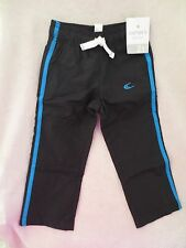 Carter's Baby Boy Performance Jogging Pants Size 2 T Black & Blue New
