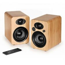 Steljes Audio-NS 3 attivo, Bluetooth, Wireless alimentato altoparlanti Bamboo
