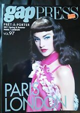 GAP PRESS MAGAZINE 2011 spring and summer  volume 97 Pret-A-Porter
