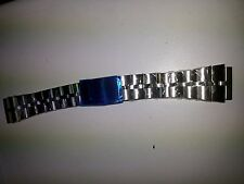 NEW SEIKO BULLHEAD  6138 - 0040  20MM FISHBONE. Free spring bar