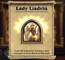 "Portrait Paladin ""Liadrin"". Hearthstone. Fast. Cheap."