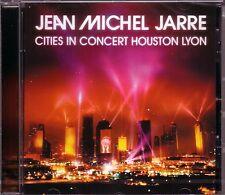 CD (NOUVEAU!). Jean MICHEL JARRE-Cities in concert houston lyon (Live mkmbh