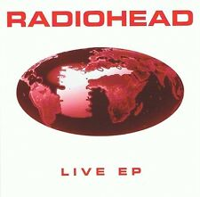 RADIOHEAD Live EP CD Single Belgian Parlophone 7243 8 52209 2 0 1996 Original