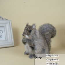 Replicas Artificial Squirrel in Fur With Hand Made Artware For Good Selling