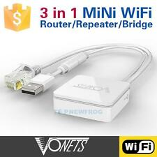 VONETS VAR11N-300 Mini Wireless WiFi Router Bridge Repeater WAN/LAN for Tablet