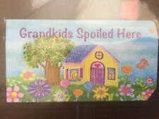 Grandkids Spoiled Here Spring Mailbox Cover Floral Standard Briarwood Lane