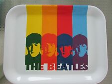 "THE BEATLES RAINBOW MELAMINE SERVING TRAY  13 "" X 10.25 "" NEW"