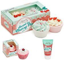 Patisserie De Bain Cherry Pie Gift Set Hand Cream Cupcake soap & Bath Tartlettes
