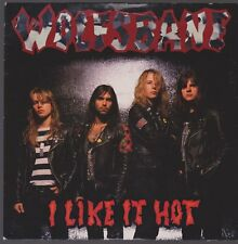 "7"" Wolfsbane I Like It Hot / Limo (Live) 80`s Hard Rock Vertigo"