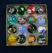 16-7/8 inch Handmade Marble Collectores Box Set