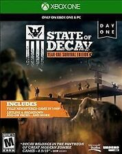 STATE OF DECAY YR 1 SURVIV XB1 GAME NEW