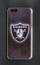 OAKLAND RAIDERS Rigid 1 Piece Snap-on Case for iPhone 5C (Design 11)+FREE STYLUS