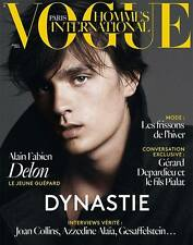 VOGUE Hommes International,Alain Fabien Delon,Clement Chabernaud FRENCH NEW