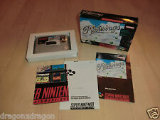 Pilotwings (SNES) komplett in OVP mit Anleitung, PAL-Version