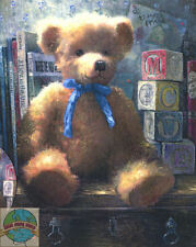 Cross Stitch Kit ~ Thomas Kinkade A Trusted Friend Teddy Bear #51642