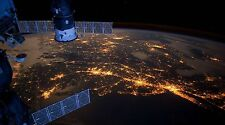 "Earth from International Space Station- 42"" x 24"" LARGE WALL POSTER PRINT NEW"