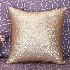 Earnest Bling Sequins Pillow Case Sofa Throw Cushion Cover Home Decor