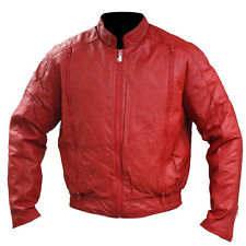 Hein Gericke Women's California I Leather Motorcycle Jacket Red size 36/Small