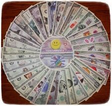 You Choose Your Favorite 25 Assorted Collectible Funny Money Novelty Notes !!